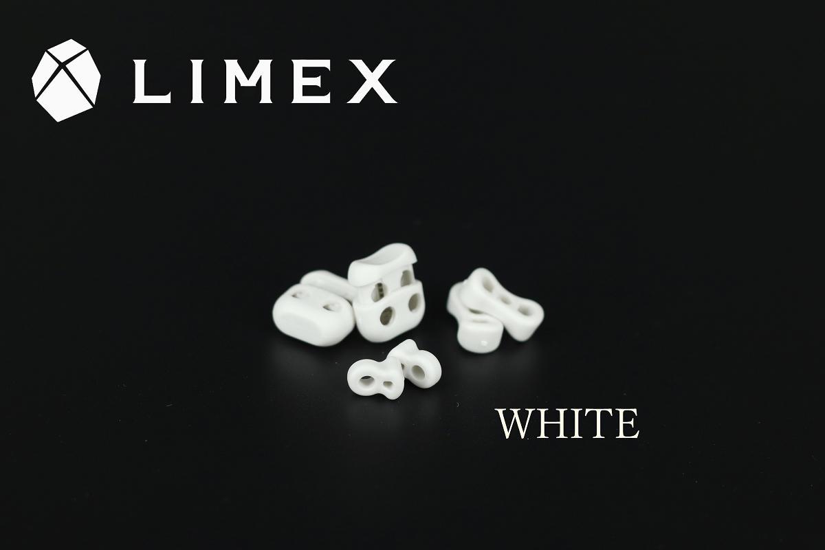 ホワイトカラーのLIMEXパーツ