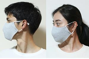 ファッショナブルなデザインマスク